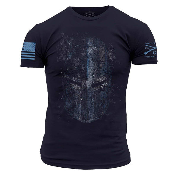 Grunt Style Blueline Crusader Men's T-Shirt