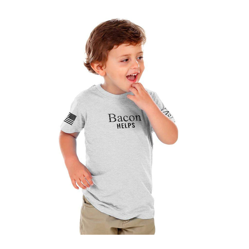 Grunt Style Bacon Helps Toddler's T-Shirt