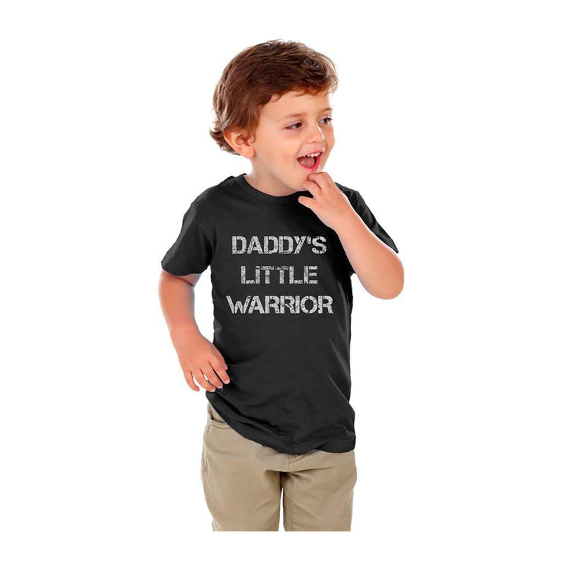 Grunt Style Daddy's Little Warrior Toddler's T-Shirt