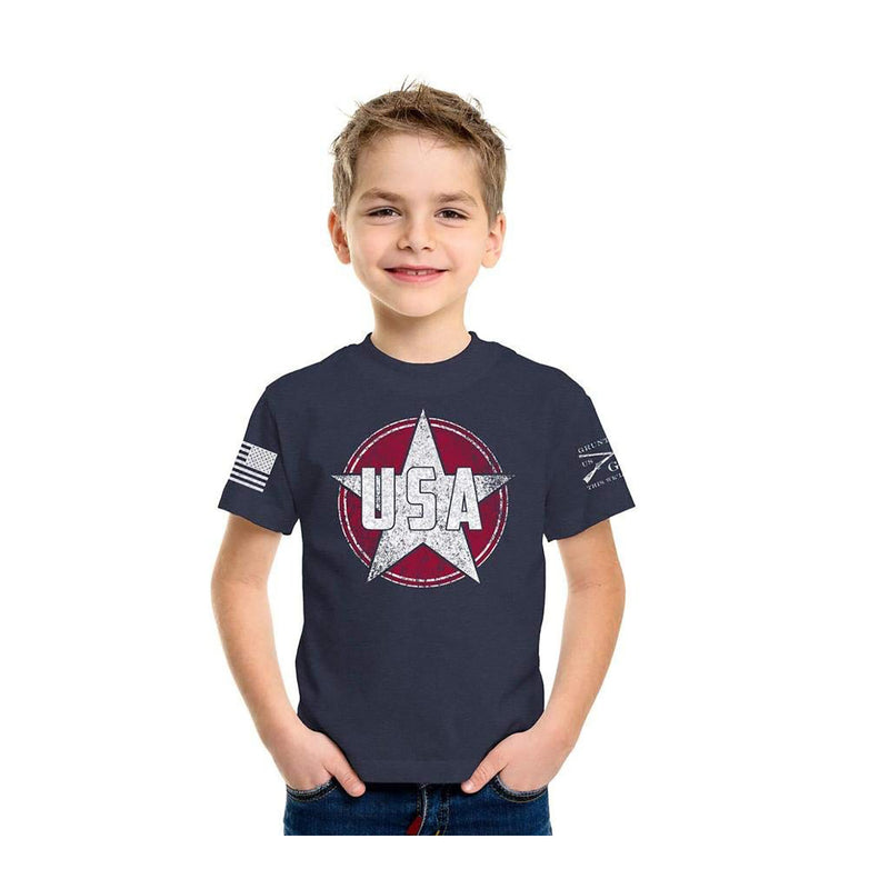 Grunt Style USA Star Youth's T-Shirt