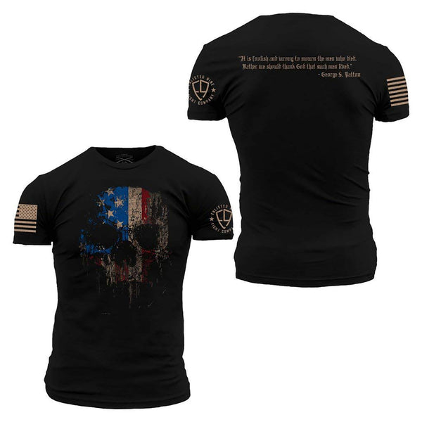 Grunt Style Enlisted 9 Lived Men's T-Shirt