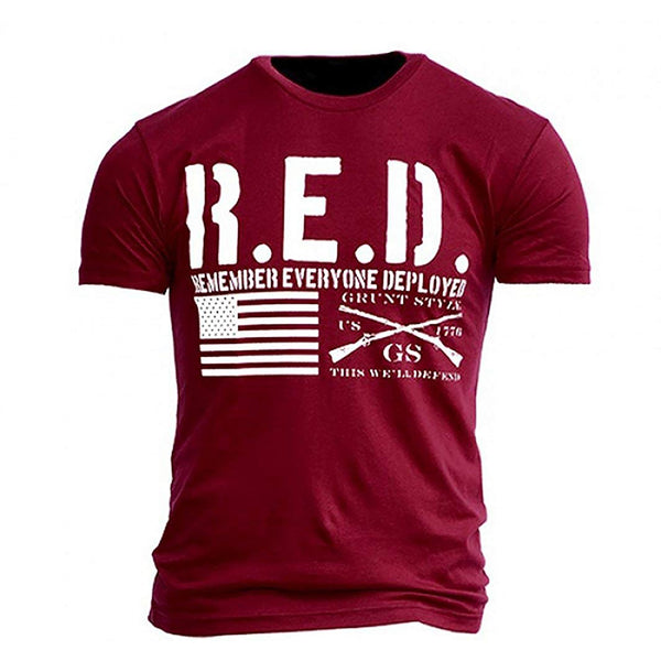 Grunt Style The R.E.D. Shirt Men's T-Shirt