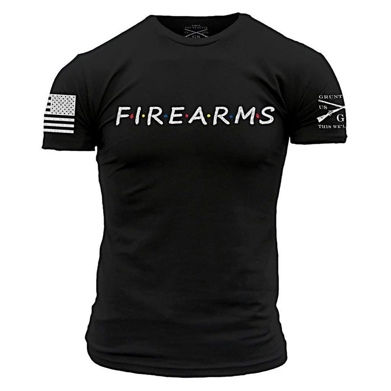 Grunt Style Firearms Men's T-Shirt
