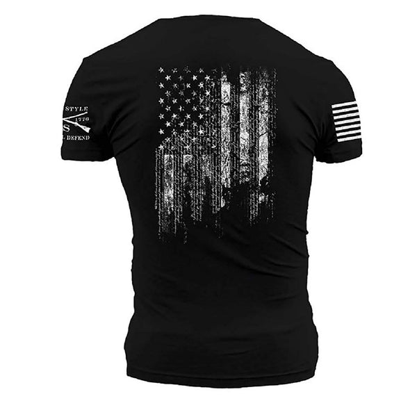 Grunt Style 1776 Flag Men's T-Shirt