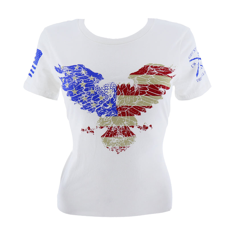 Grunt Style Freedom Eagle Women's T-Shirt