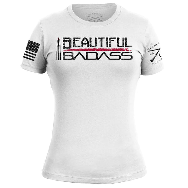 Grunt Style Beautiful Badass Women's T-Shirt