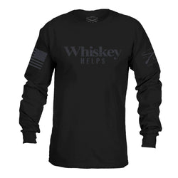Grunt Style Whiskey Helps Longsleeve Men's T-Shirt