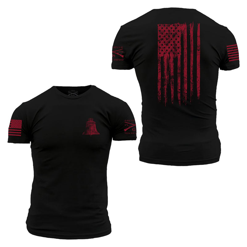 Grunt Style Ink of Liberty Men's T-Shirt