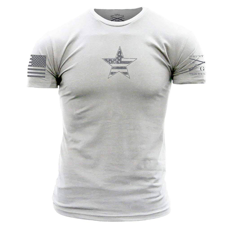 Grunt Style Basic American Star Men's T-Shirts
