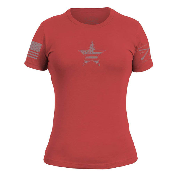Grunt Style Basic American Star Women's T-Shirts