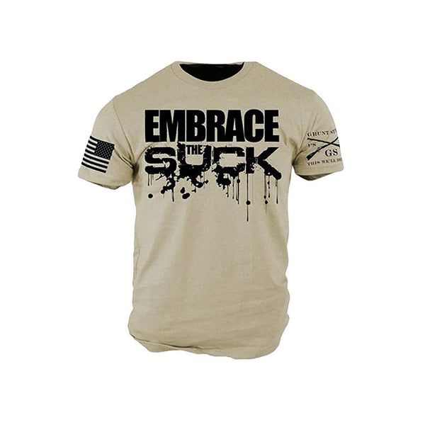 Grunt Style Embrace The Suck Men's T-Shirt