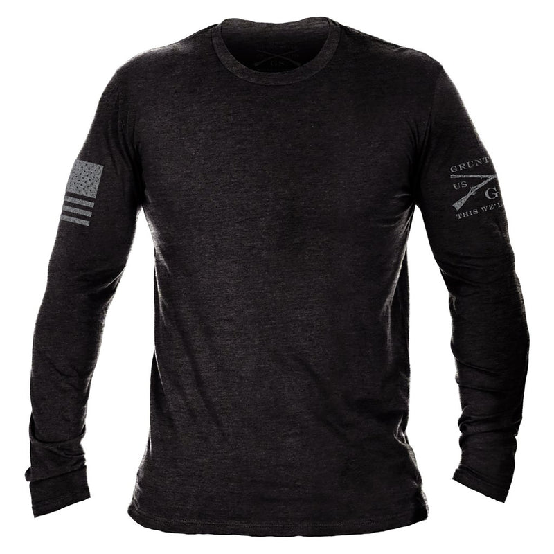 Grunt Style Basic Long Sleeve Men's T-Shirt