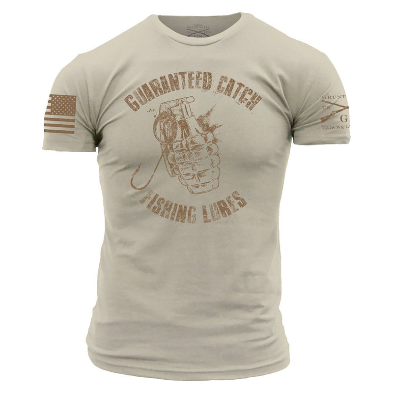 Grunt Style Guaranteed Catch Men's T-Shirt