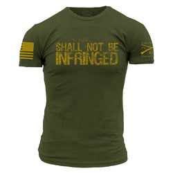 Grunt Style Shall Not Be Infringed Men's T-Shirt
