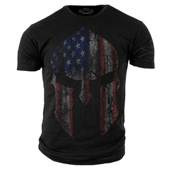 Grunt Style American Spartan Men's T-Shirt