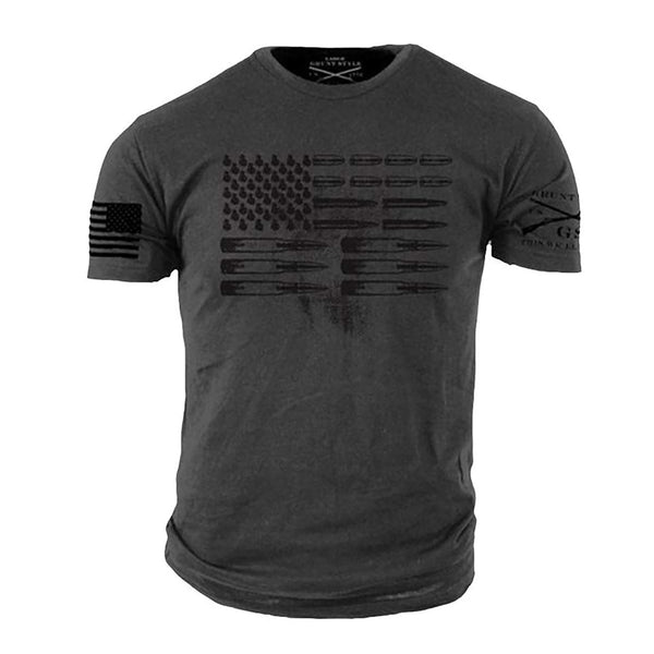 Grunt Style Ammo Flag Men's T-Shirt