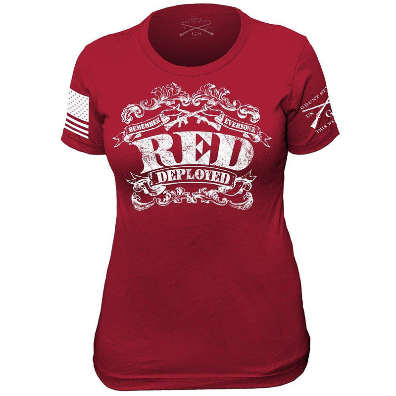 Grunt Style The R.E.D. Shirt II Women's T-Shirt