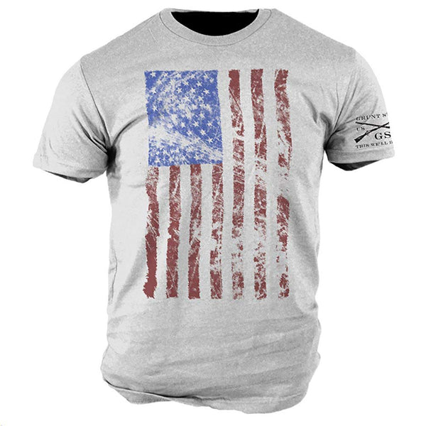 Grunt Style Stars And Stripes Men's T-Shirt