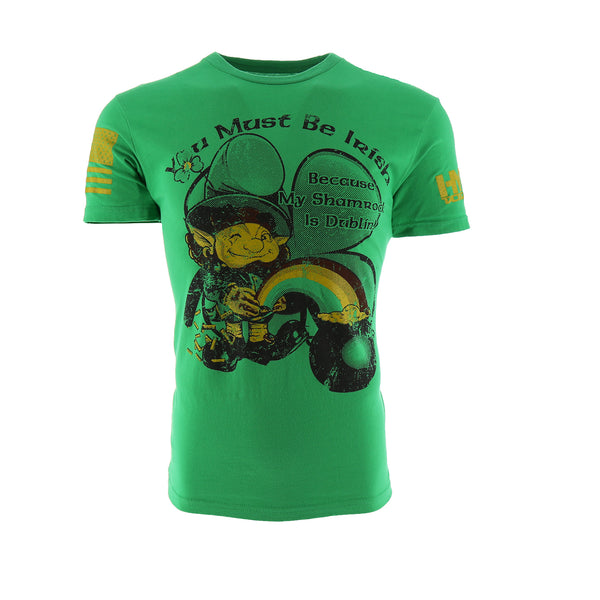 HYDRA Tactical You Must Be Irish Men's T-Shirt
