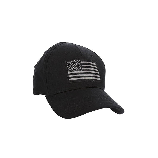 RogueAmerican Solid Flag Flex Fit Hat