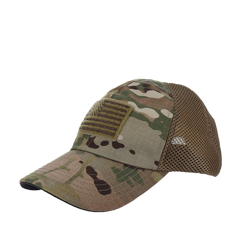 RogueAmerican Spacer Mesh Flag Hat