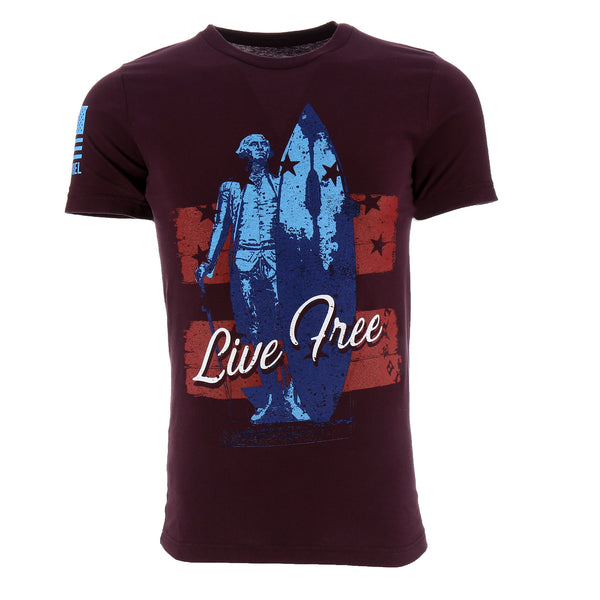 Nine Line Live Free Men's T-Shirt