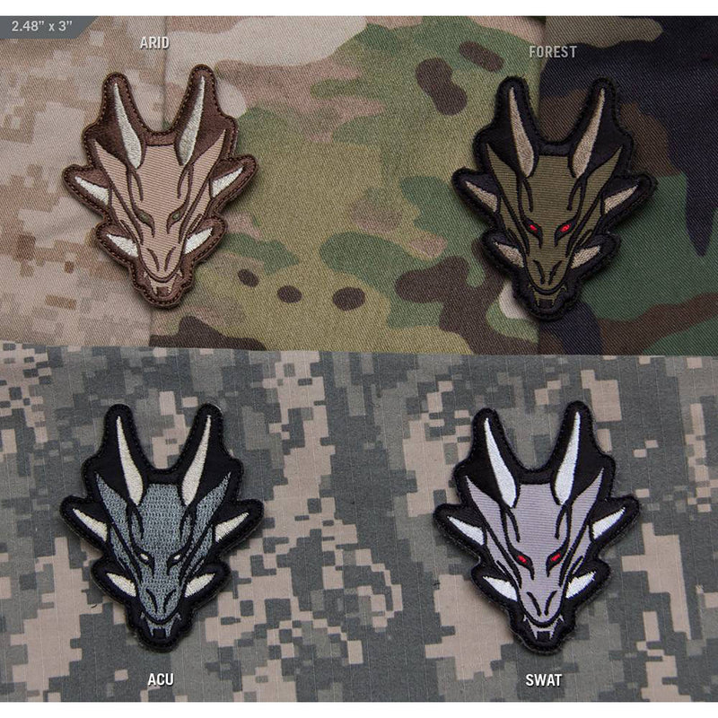 Mil-Spec Dragon Head Patch