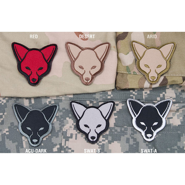 Mil-Spec Fox Head Patch