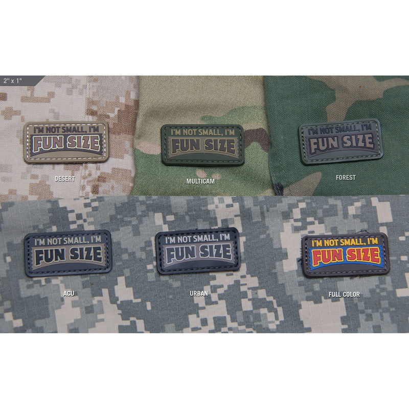Mil-Spec Fun Size PVC Patch