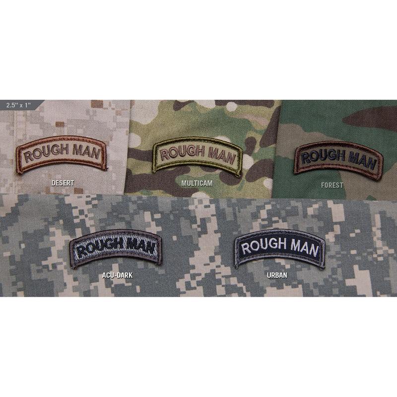Mil-Spec Rough Man Patch