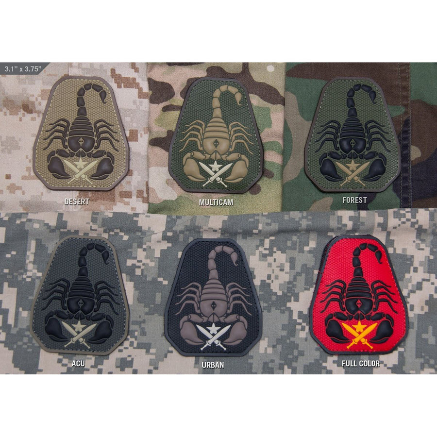 Mil-Spec Scorpion Unit PVC Patch
