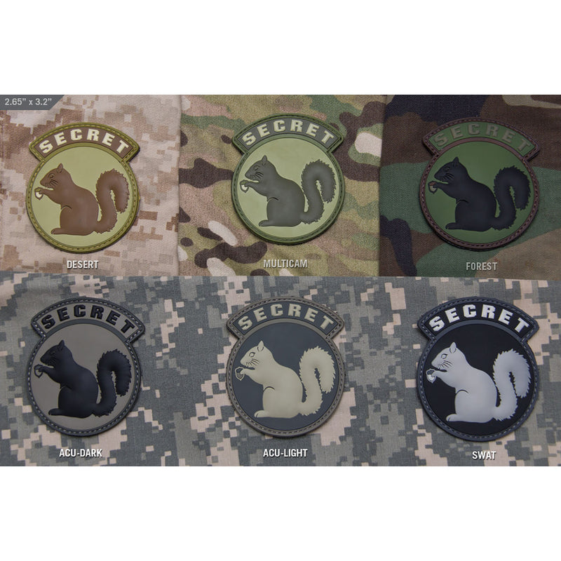 Mil-Spec Secret Squirrel Patch