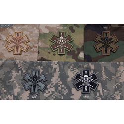 Mil-Spec Tactical Medic Spartan Patch