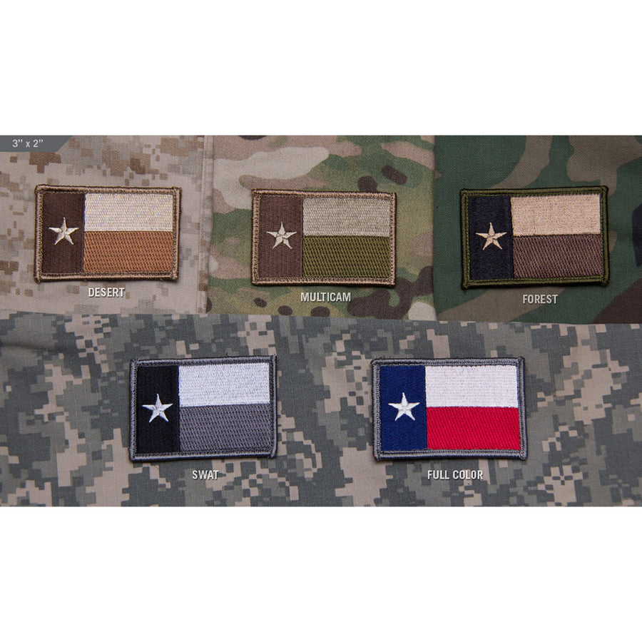 Mil-Spec Texas Flag Patch