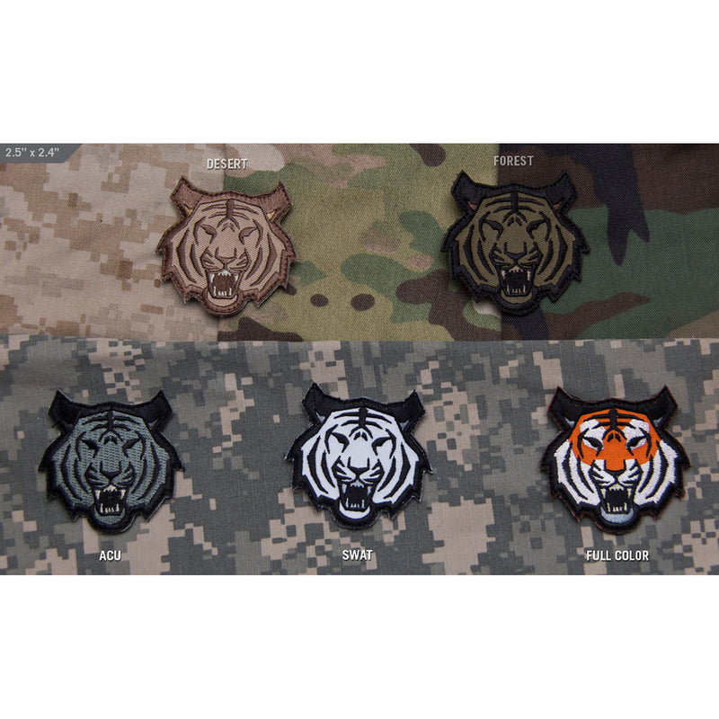 Mil-Spec Tiger Head Patch