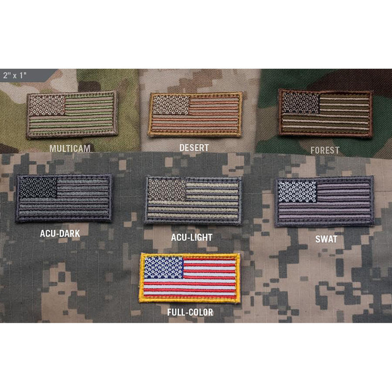 Mil-Spec US Flag Mini Patch