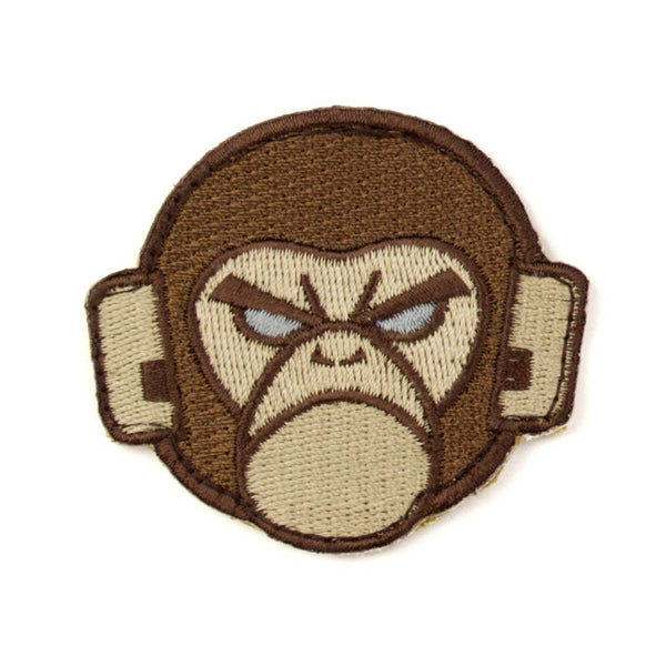Mil-Spec Monkey Head Logo Patch