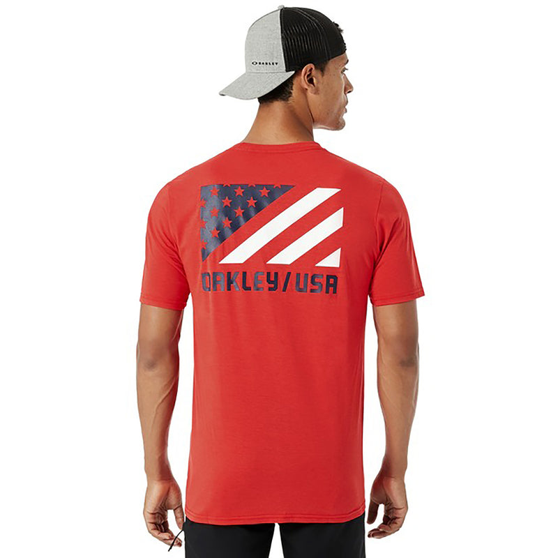 Oakley SC USA Flag Men's T-Shirt