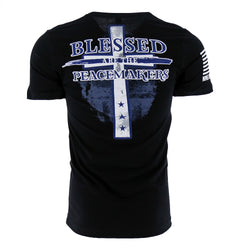 Nine Line Officer Baker Blessed Men's T-Shirt