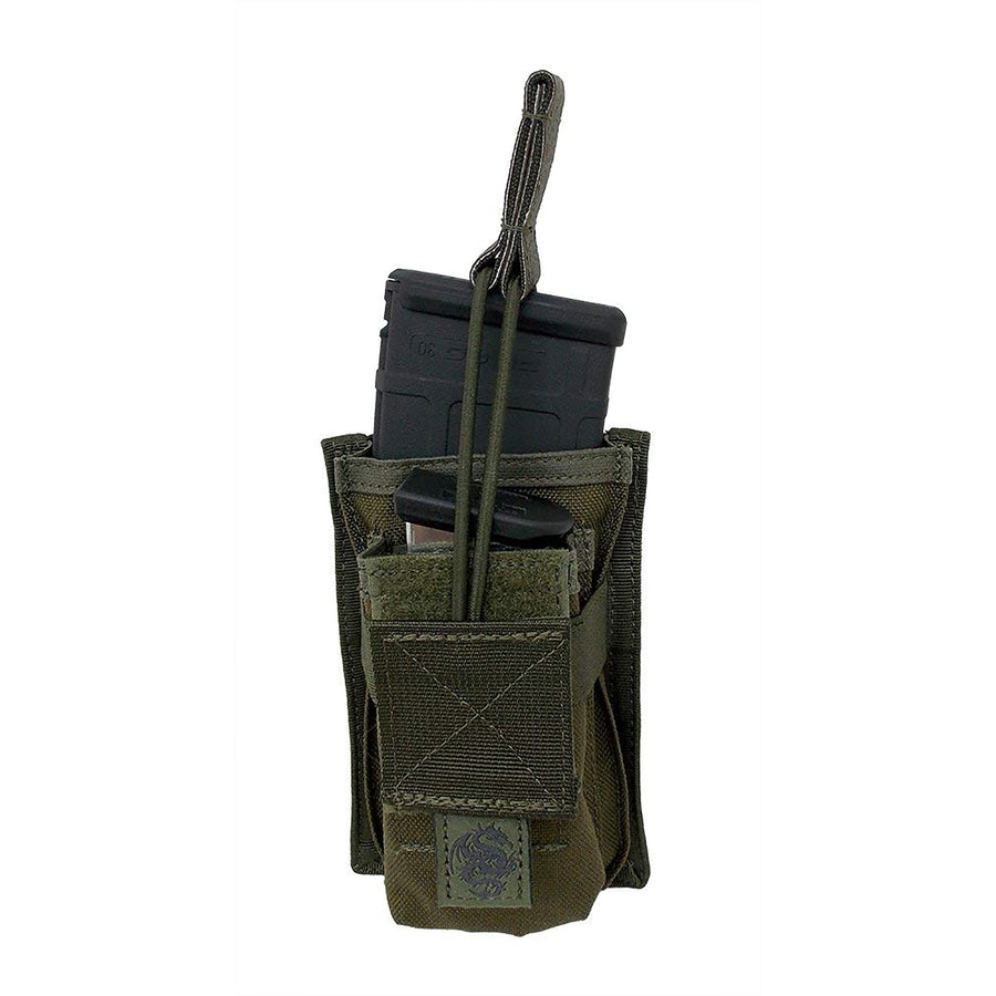 TacProGear Rifle Magazine Pouch w/ Pistol Mag Pocket