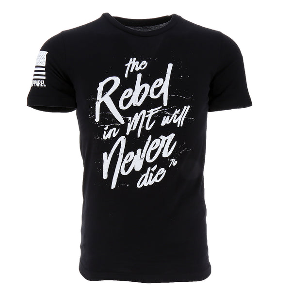 Nine Line The Rebel In Me Will Never Die Men's T-Shirt