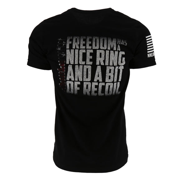 Nine Line Freedom Has A Nice Ring Men's T-Shirt