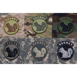 Mil-Spec Secret Squirrel PVC Patch