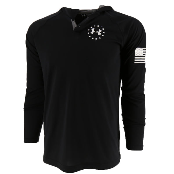 Under Armour Freedom Tech Popover Men's T-Shirt