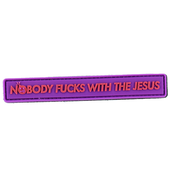 "Dump Box Dangerous Goods - Big Lebowski ""Nobody Fucks With The Jesus"" Morale Patch"