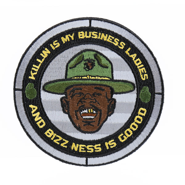 "Dump Box Major Payne ""Killin Is My Business Ladies"" Morale Patch"