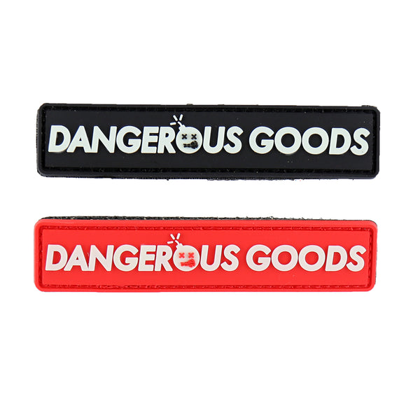 Dump Box Dangerous Goods Logo Morale Patch