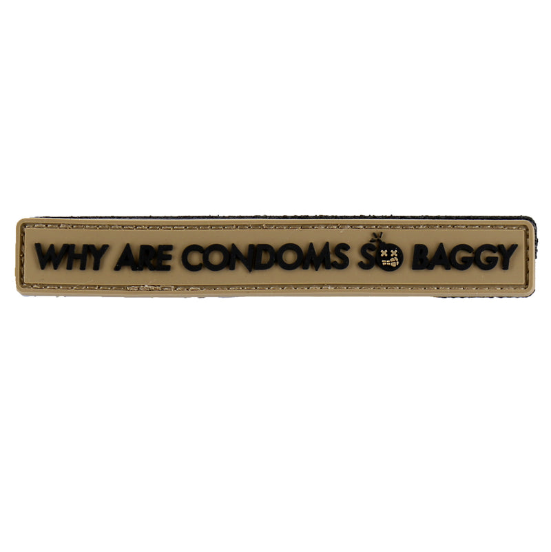 "Dump Box Dangerous Goods - Impractical Jokers ""Why Are Condoms So Baggy"" Morale Patch"