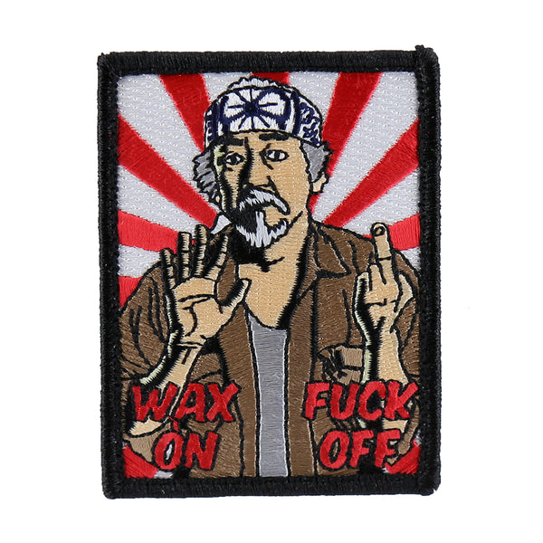 "Dump Box Mr. Miyagi ""Wax On Fuck Off"" Morale Patch"