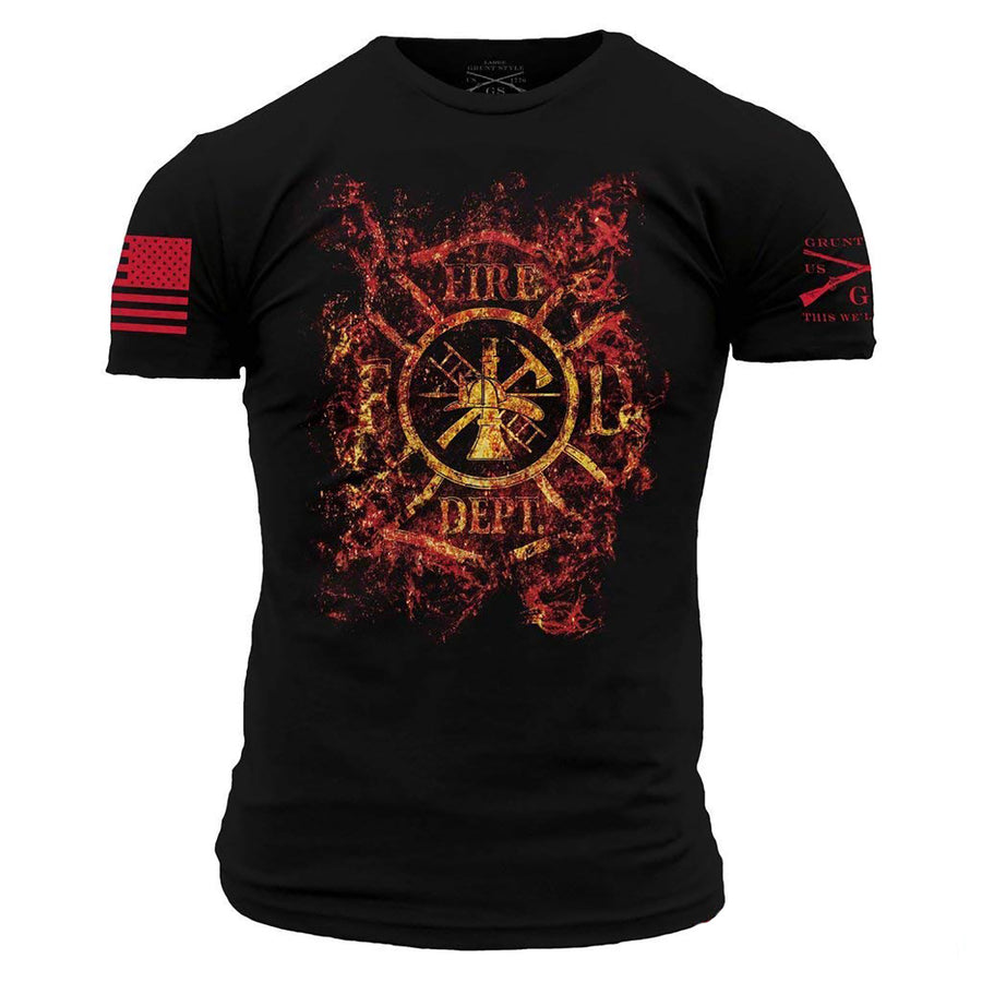 Grunt Style Cross Fire Men's T-Shirt